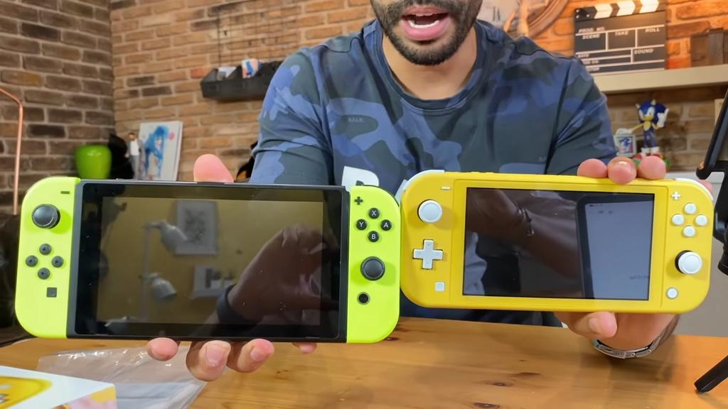 Nintendo Switch Lite y Nintendo Switch
