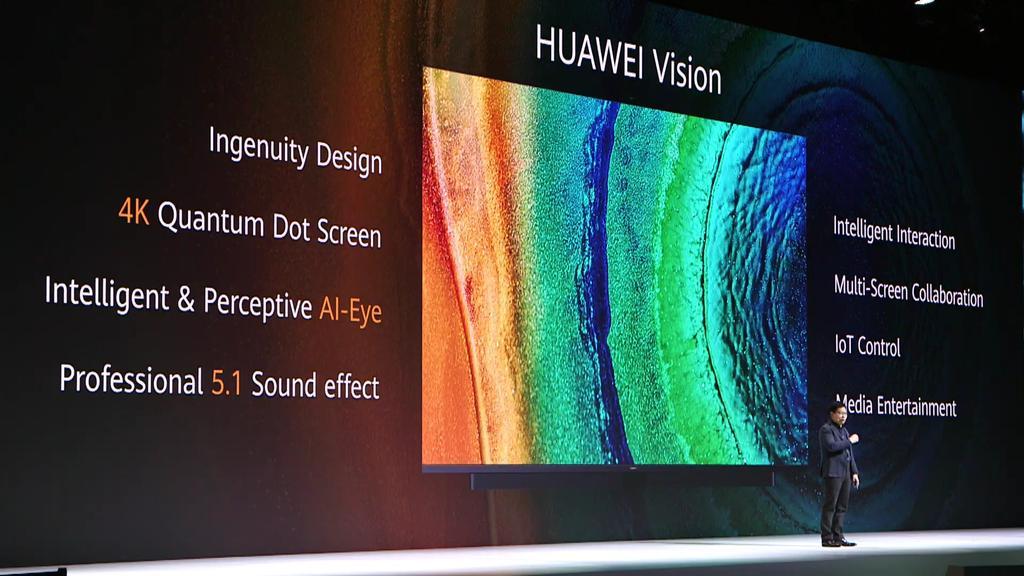 Pantalla de la Smart TV Huawei Vision