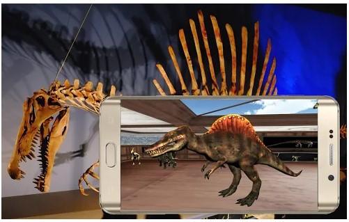Aplicación Visit The Dinosaurs VR Museum (CardBoard)