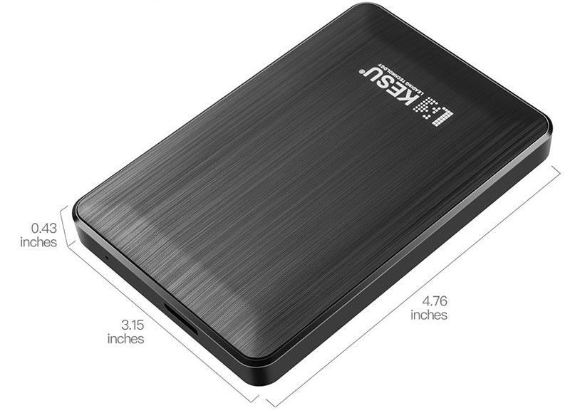 Disco duro externo KESU Ultra Slim