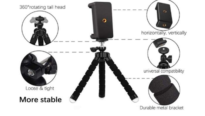 Zommuei, el trípode pequeño y portable