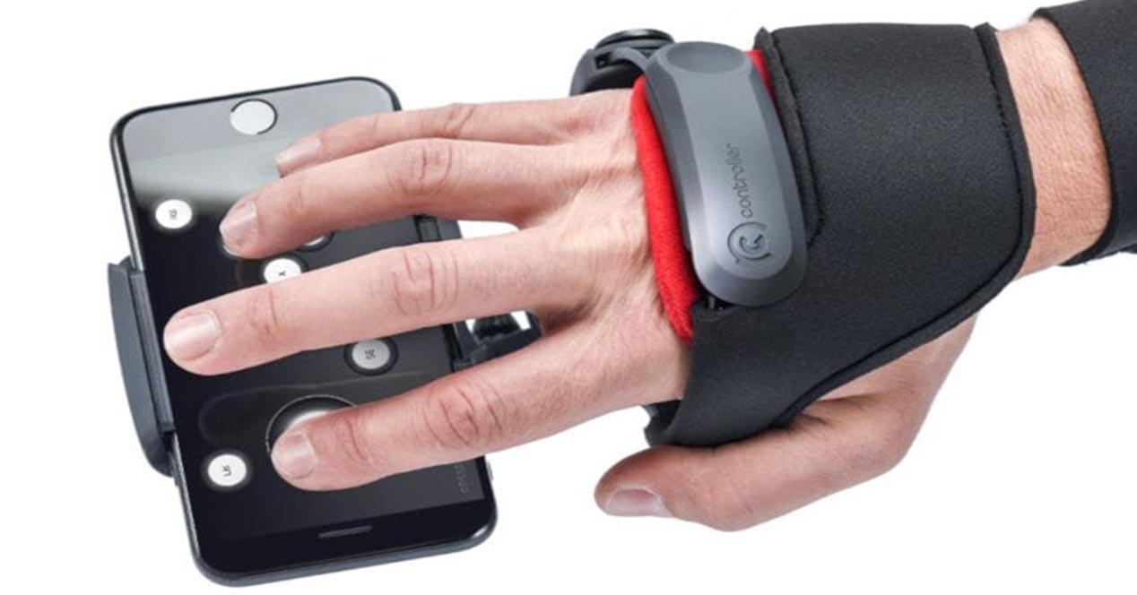 Controlador NGC para sistemas de realidad virtual