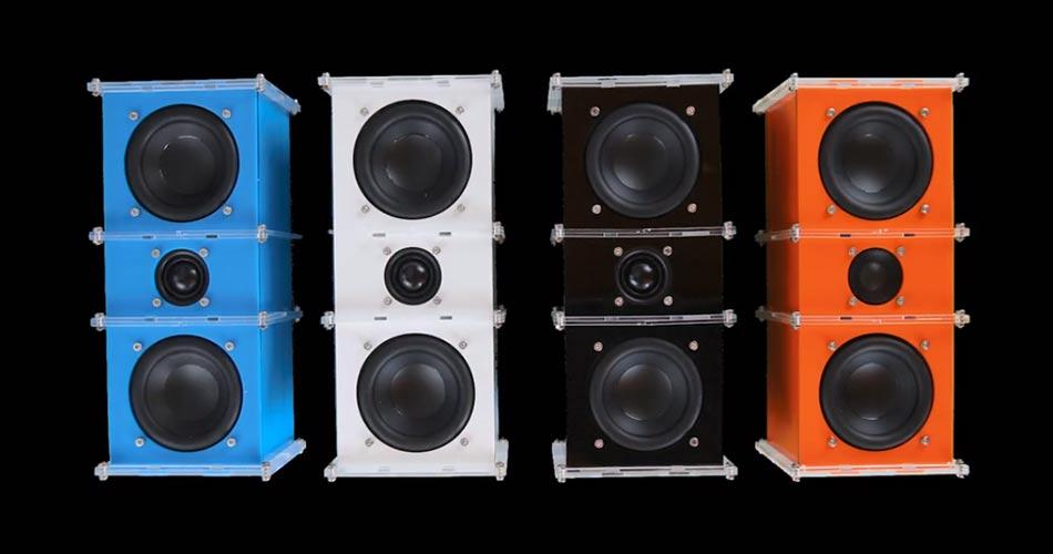 El DIY Speaker está disponible en 4 colores
