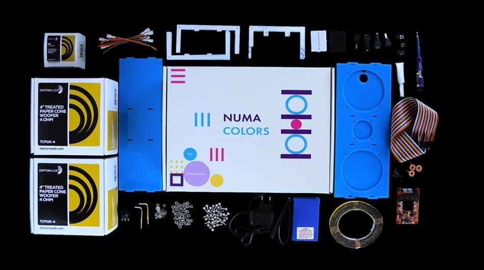 El DIY Speaker lo construyes tú mismo por partes