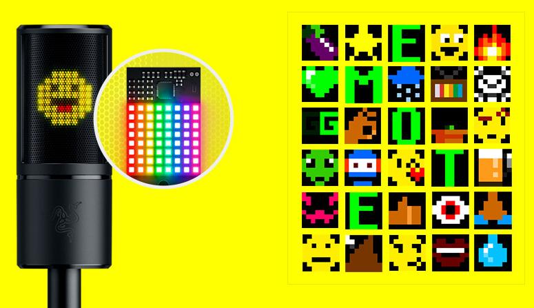 El Razer Seiren Emote permite personalizar tus emoticonos