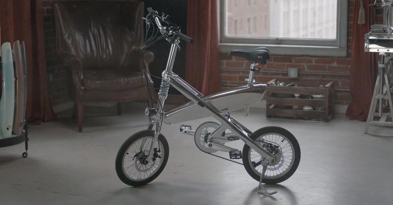 SIVRAC, la bicicleta eléctrica con un mecanismo único