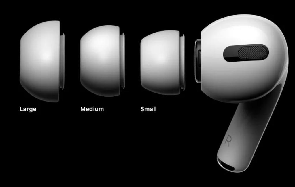 Adaptadores de silicona de los AirPods Pro