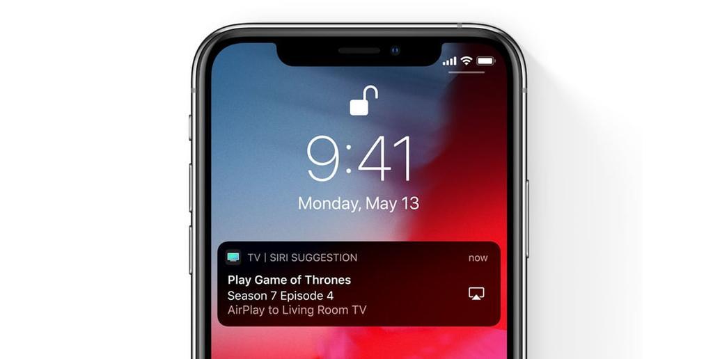 AirPlay en un iPhone