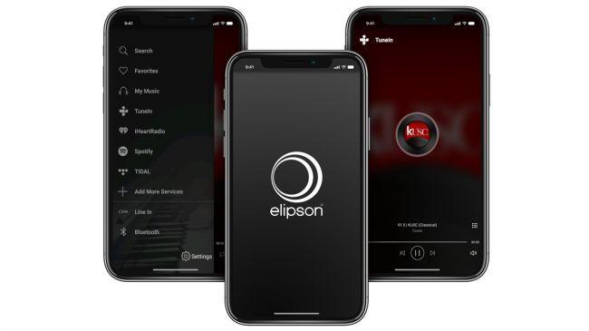 Interfaz del Altavoz Bluetooth Elipson W35