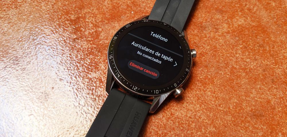 Sincronizar auriculares Huawei Watch GT 2