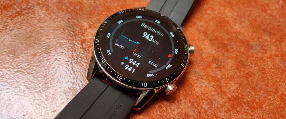 Barómetro del Huawei Watch GT 2