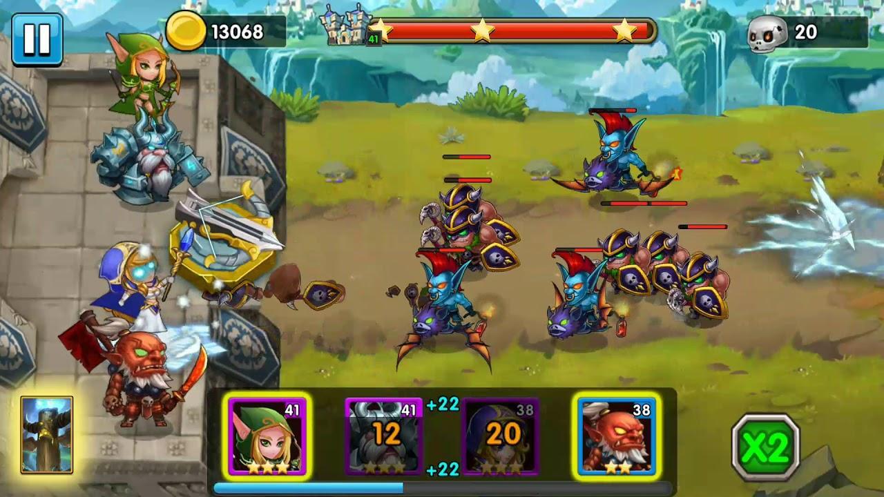 Juego Defender Heroes Premium