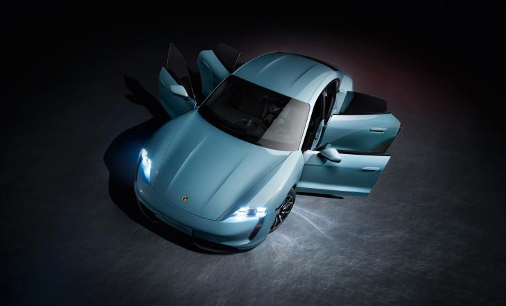 Nuevos coche Porsche Taycan 4S EV
