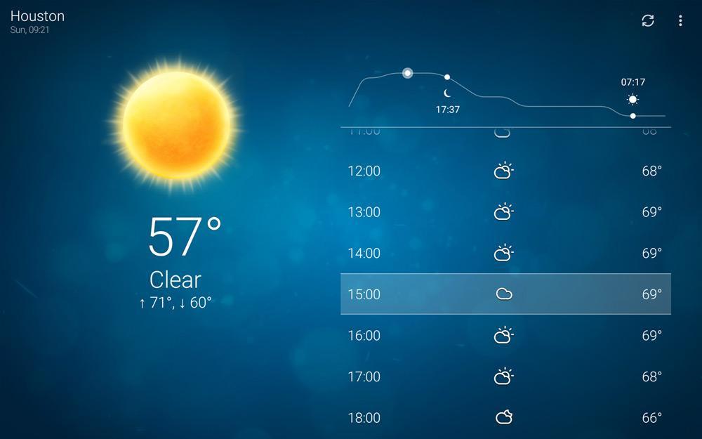 Aplicación Clima para Amazon Fire TV Stick