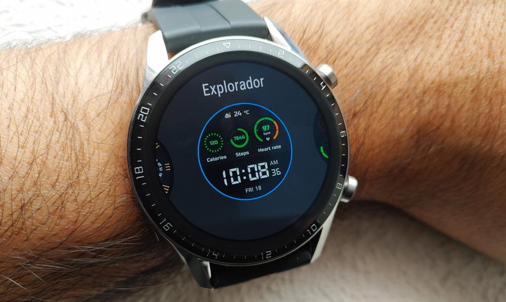 Cambio de esfera en el Huawei Watch GT 2