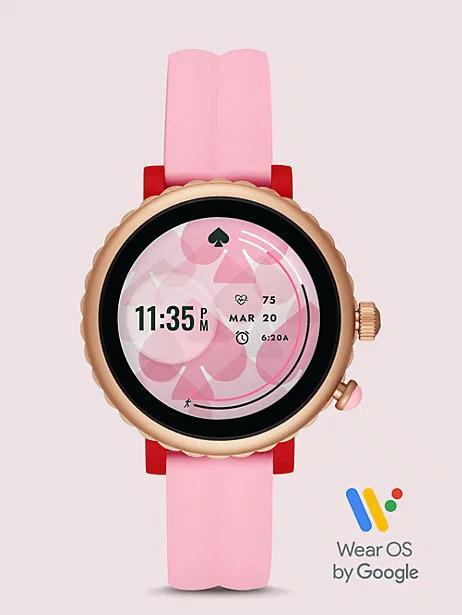 Imagen frontal del smartwatch Kate Spade Sport Smartwatch