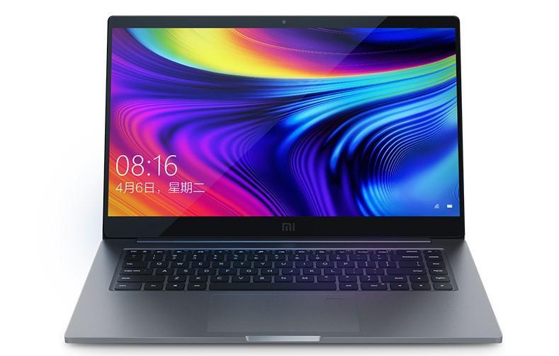 Imagen frontal del portátil Xiaomi Mi Notebook Pro Enhanced Edition