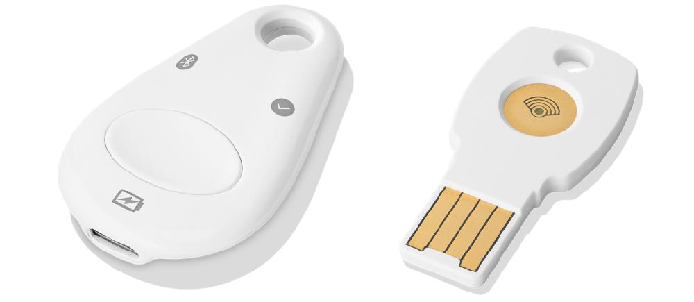 Google Titan Bluetooth y USB tipo A