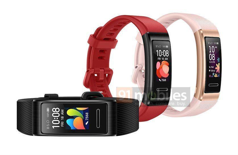 Diseño de la Huawei Band 4 Pro