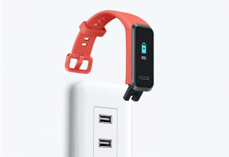 Carga USB de la Huawei Band 4