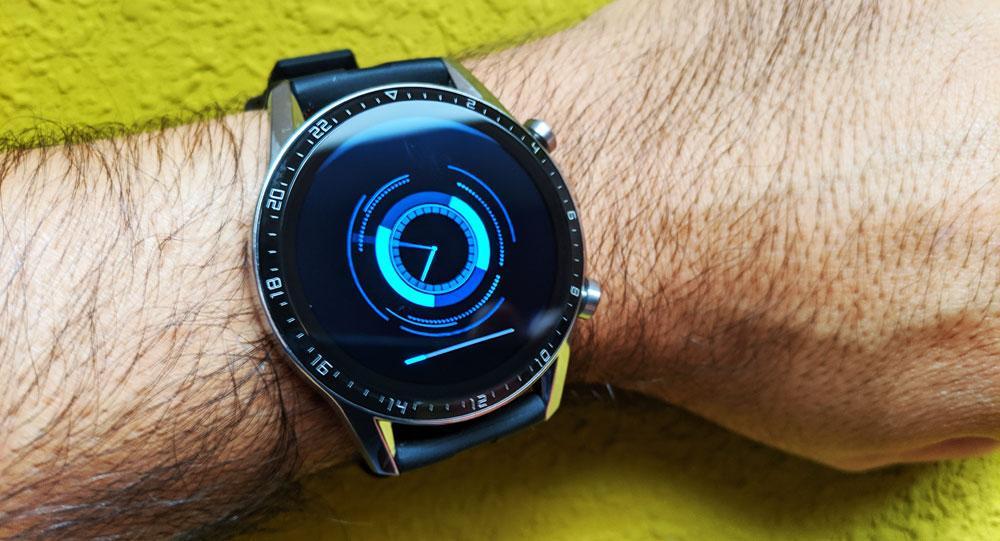 Smartwagtch Huawei Watch GT 2 actualizando