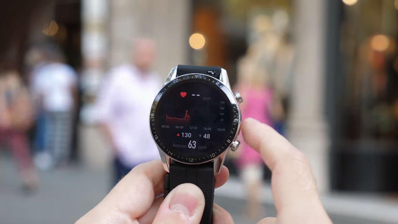 Ritmo cardíaco con el Huawei Watch GT 2