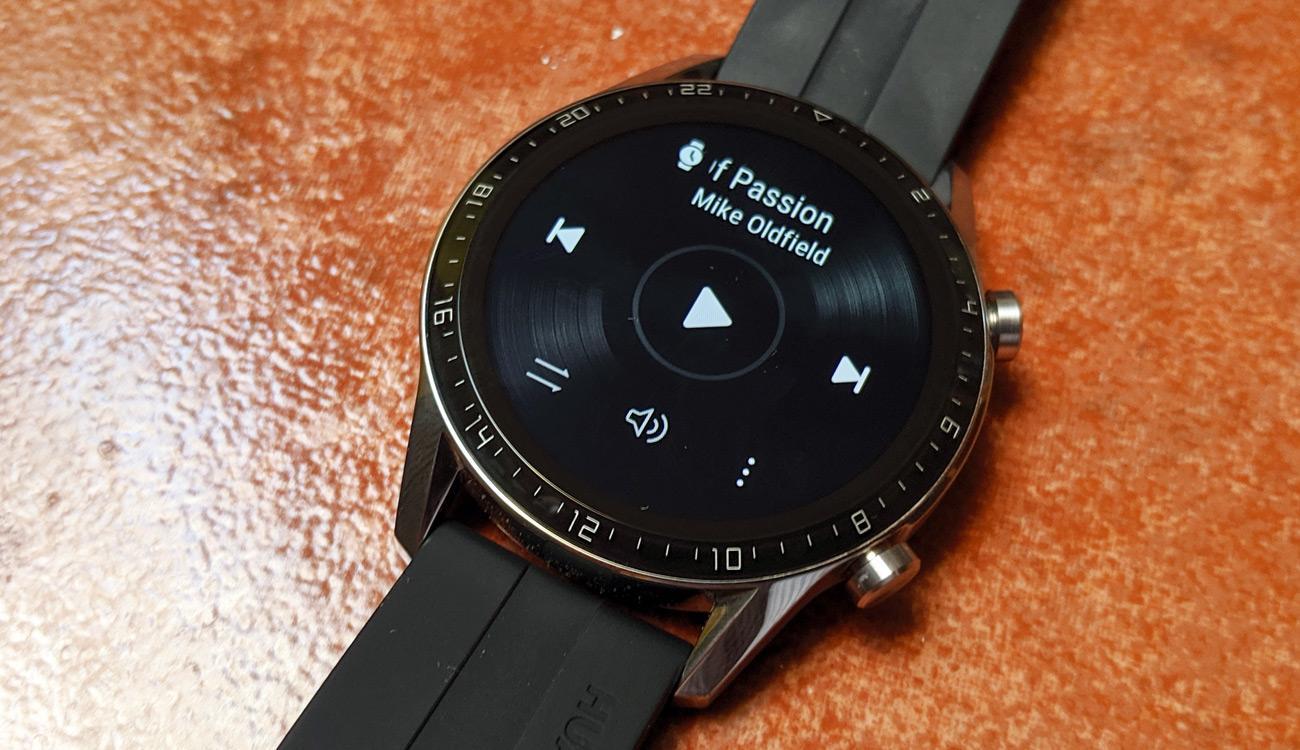 Música en el Huawei Watch GT 2
