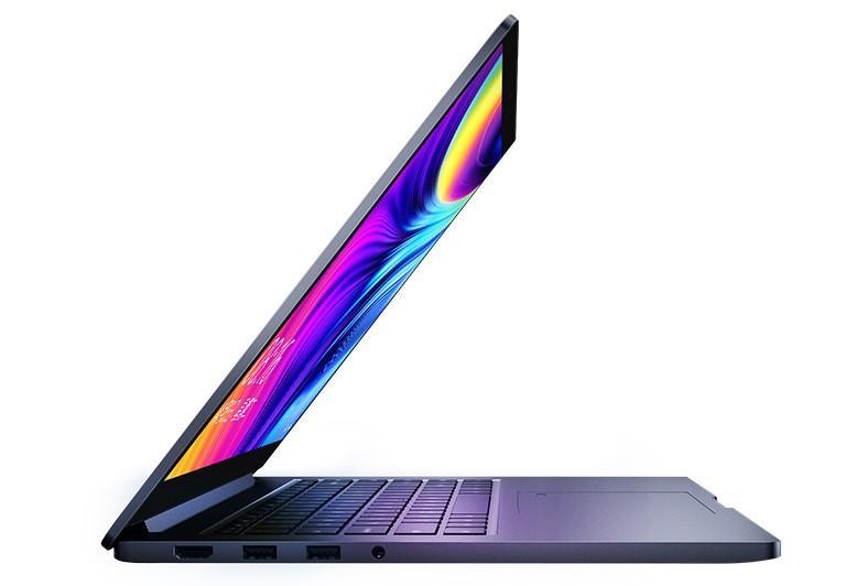 Imagen lateral Xiaomi Mi Notebook Pro Enhanced Edition