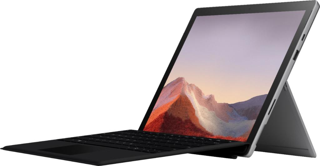 Diseño de Microsoft Surface Pro 7