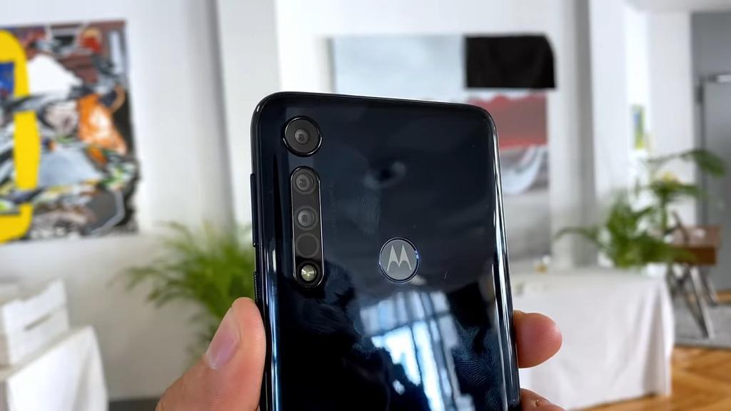 cámara del Motorola One Macro