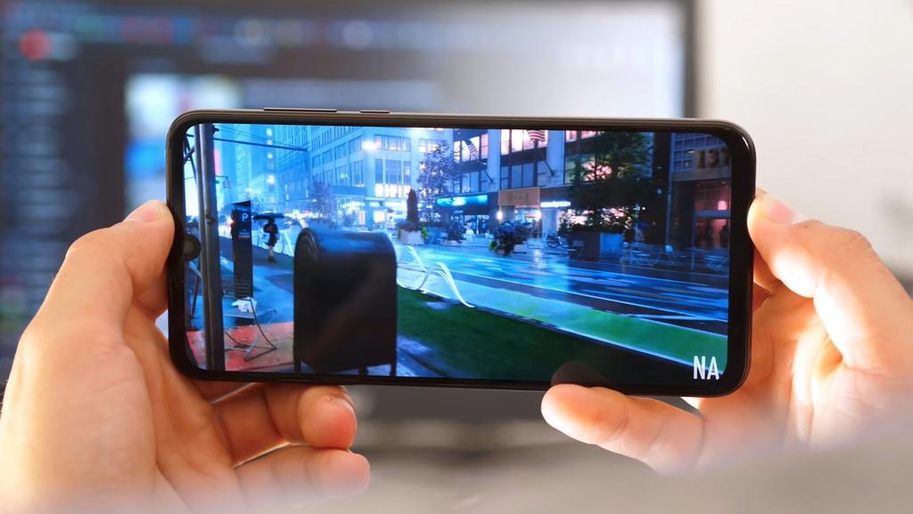 Pantalla del Motorola One Zoom