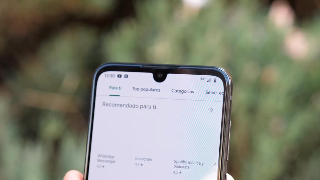 Notch del Motorola One Zoom