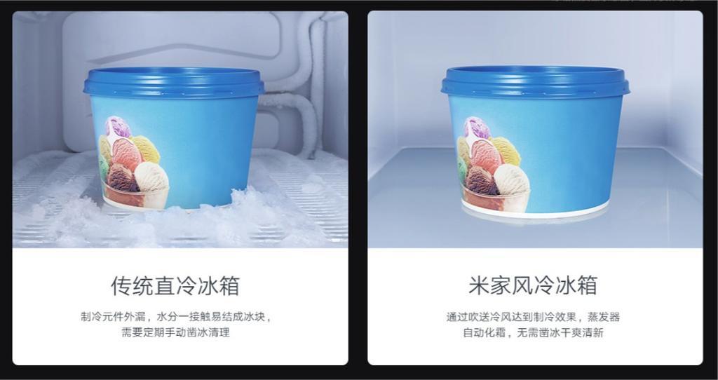 Sistema No Frost de las neveras inteligentes de Xiaomi
