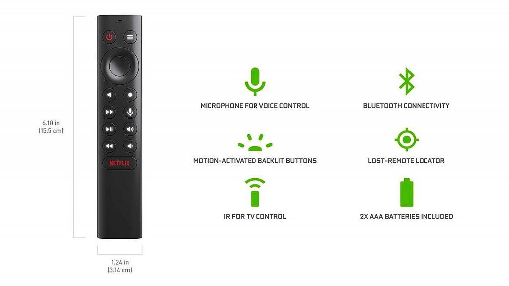 Mando de la Nvidia Shield TV Pro
