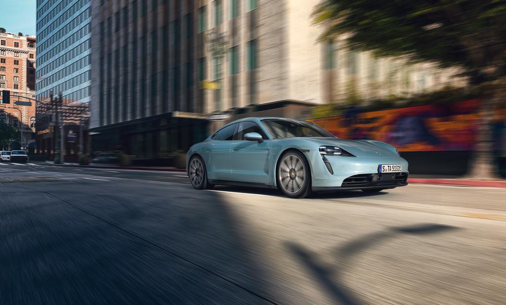 Porsche Taycan 4S, la variante más 'económica' del deportivo eléctrico | Eléctricos