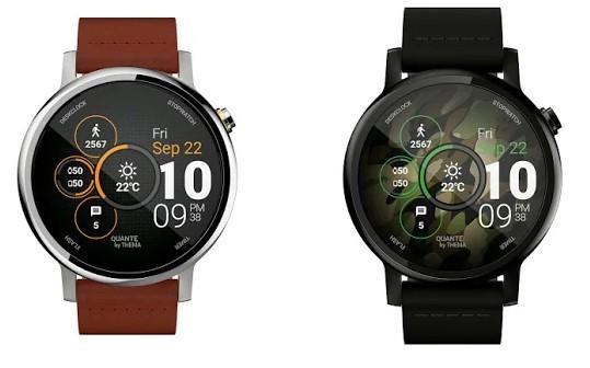 Esfera Wear OS Quante Watch Face