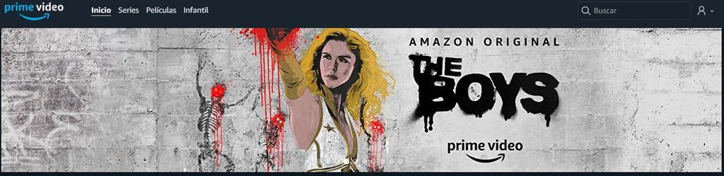 Serie en Amazon Prime Video