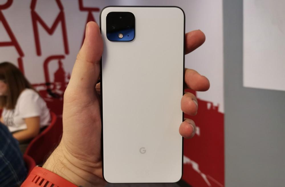 Imagen trasera del Google Pixel 4 XL