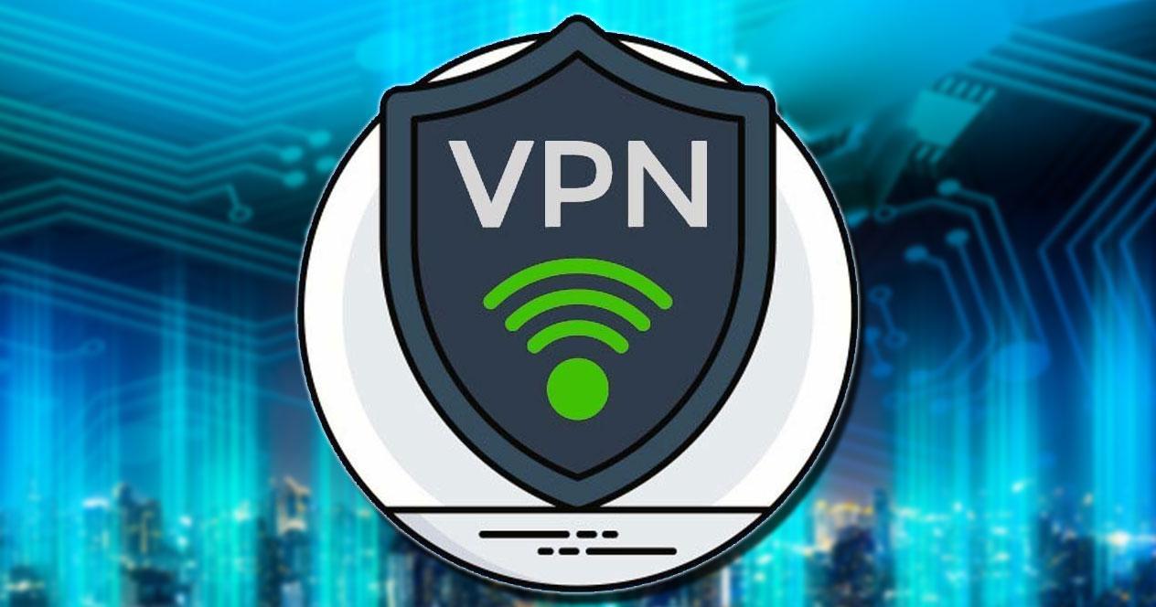 Logotipo de conexión VPN