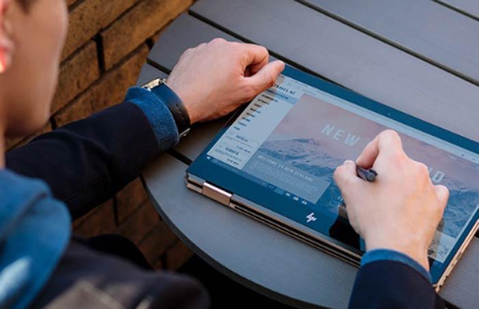 El Spectre x360 13 tiene la capacidad de conmutar entre portátil y tablet