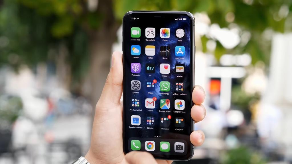 Frontal del iPhone 11 Pro Max