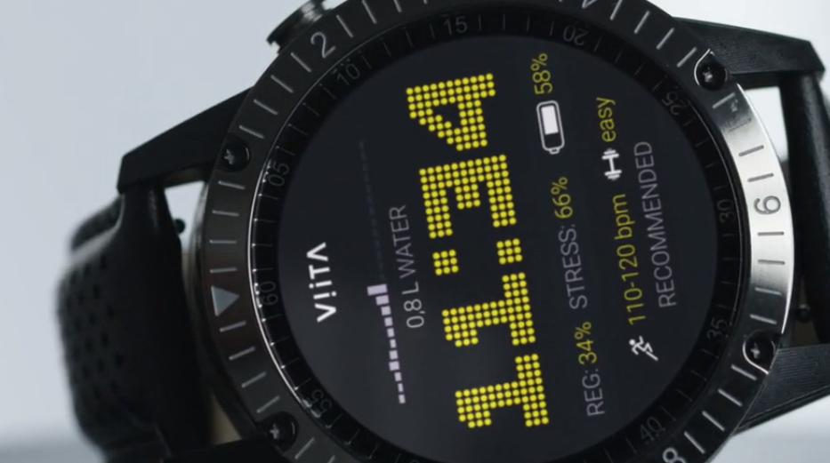 El smartwatch de Viita es muy completo y premium