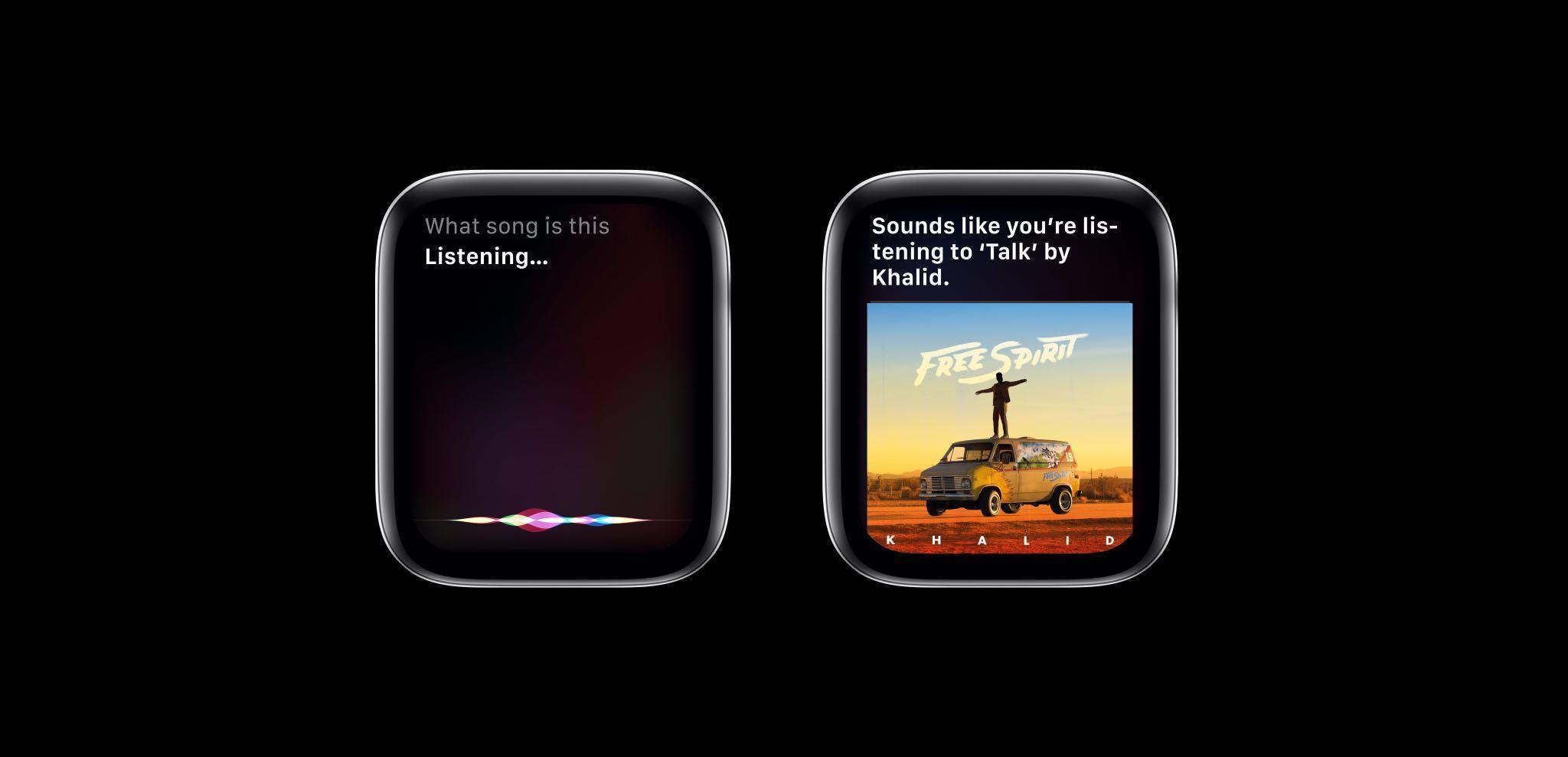 watchOS 6 Siri