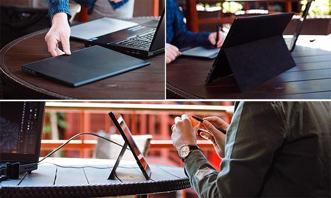 Diseño monitor portátil Desklab