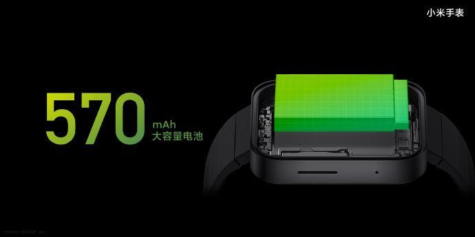 Carga de la batería del smartwatch Xiaomi Mi Watch