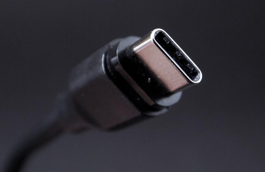 Conexión de cable USB tipo C
