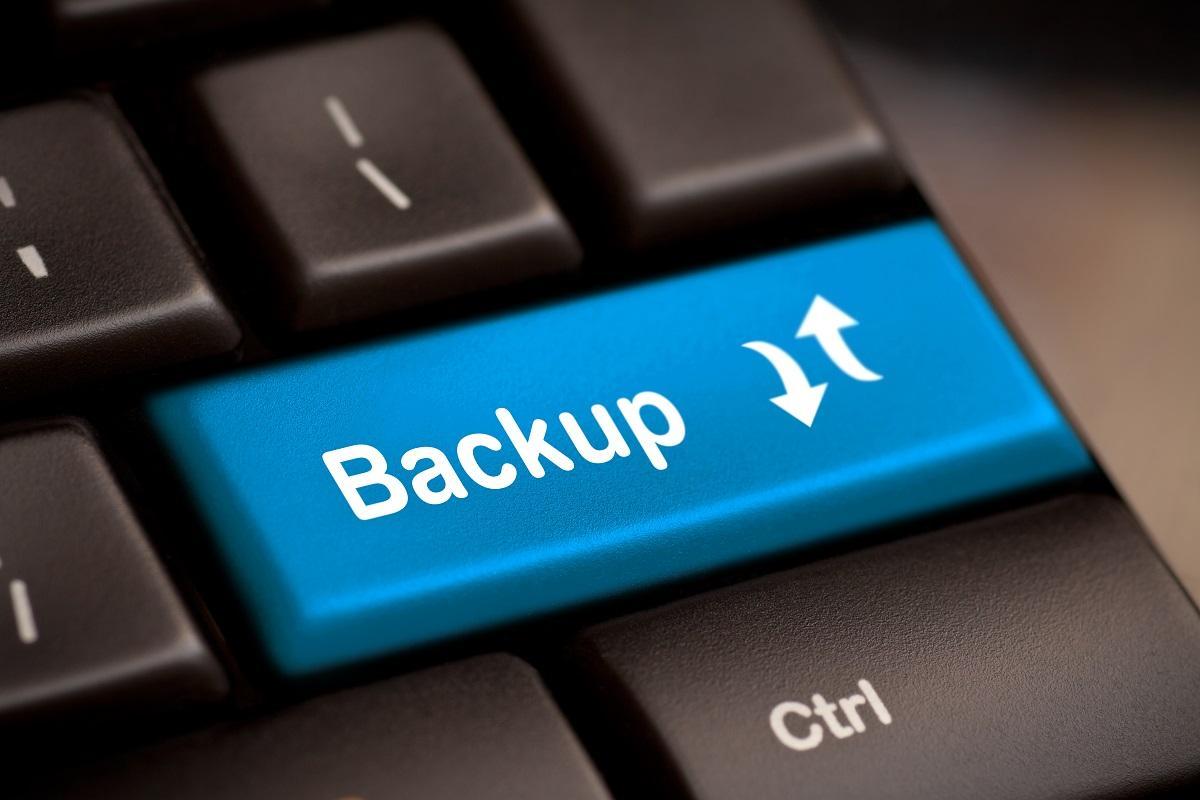 Logotipo de copia de seguridad