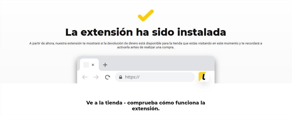 Extensión de LetyShops