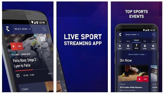 Aplicación de Eurosport Player