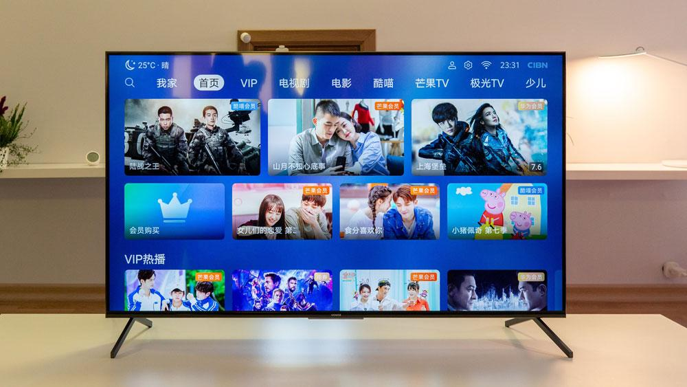 Smart TV de Honor diseño real